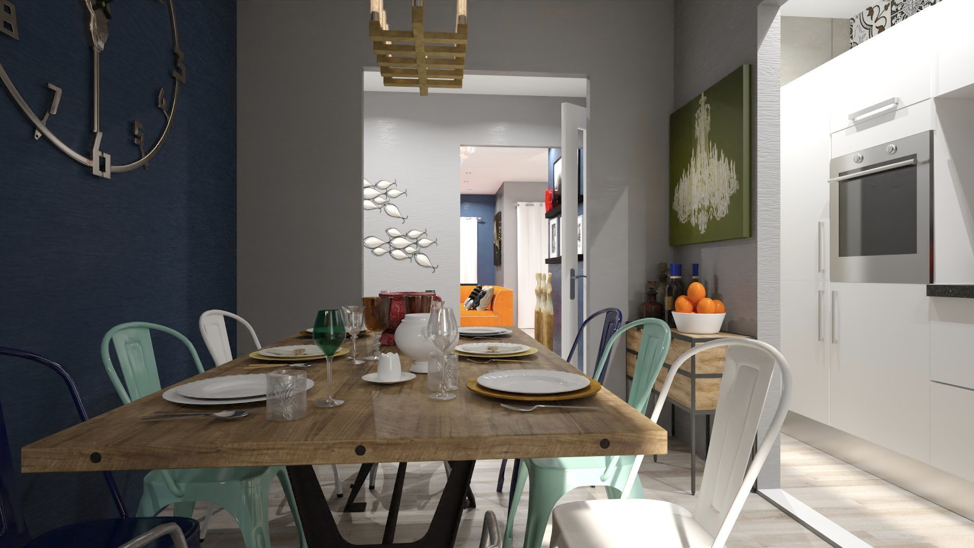 Decorating A Dining Room Without Windows Design Tips